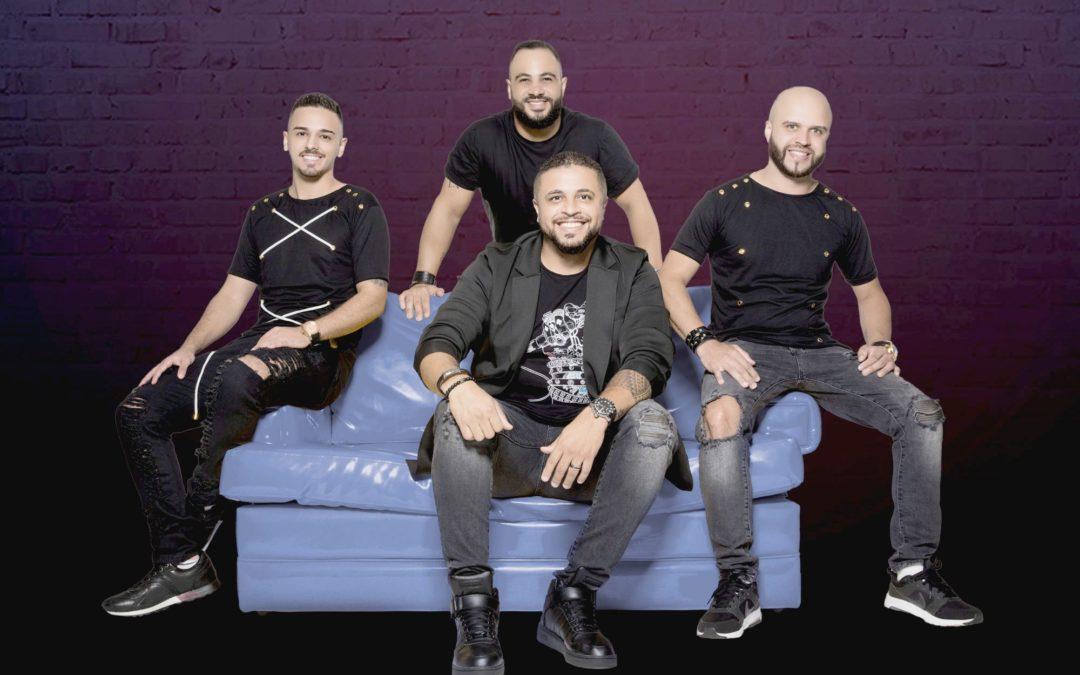 """Grupo Haridady lança lyric da nova música """"Quando a Gente se Beija"""""""