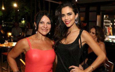 Daniela Albuquerque prestigia Adriana Scarpelli em evento na Casa Miracolli