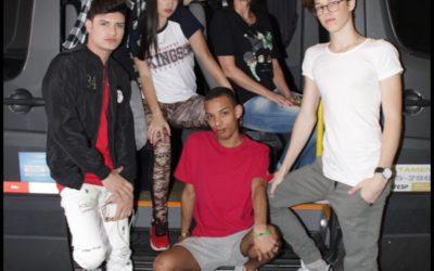 Youtubers agitam loja Kings Sneakers de Ribeirão Preto
