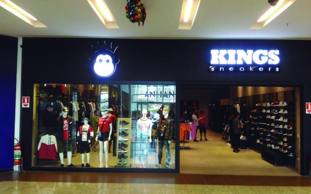 Unidade Kings Sneakers do Bragança Garden Shopping realiza coquetel de ano novo