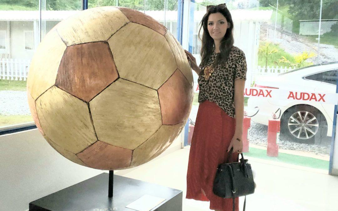 Ana Maria Macedo confere projetos sociais do Time Grêmio Osasco Audax
