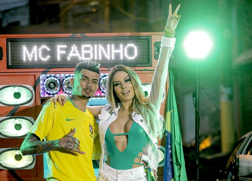 Mc Fabinho e Fernanda Lacerda - Fotos: RL Assessoria / Divulgação