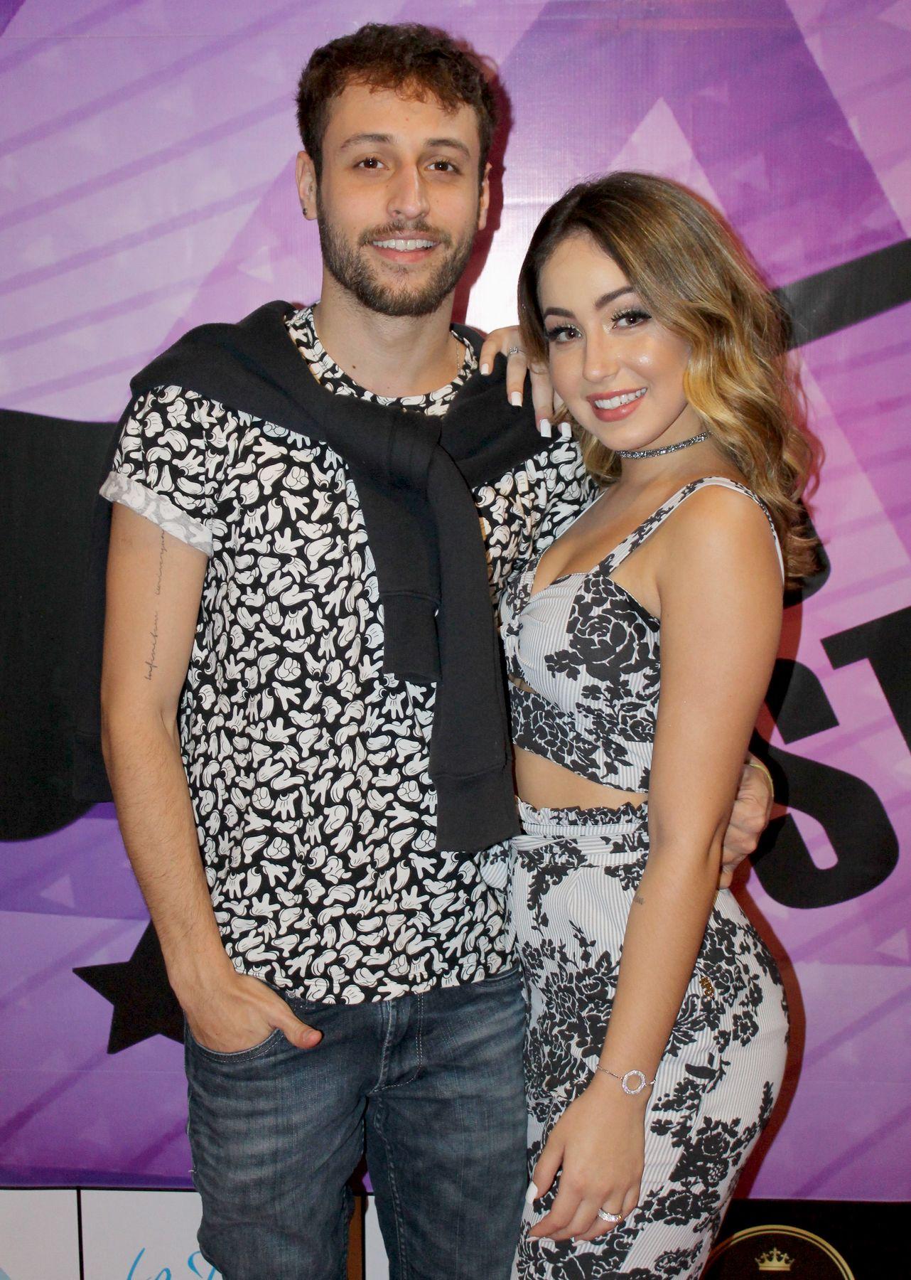 Nathan Barone e Mharessa Fernanda