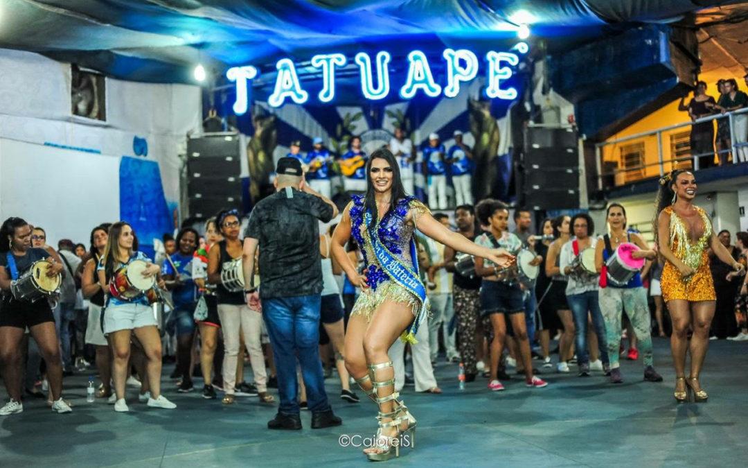 CONHEÇA ÍTALA BRUNA,  MADRINHA DE BATERIA DA ACADÊMICOS DO TATUAPÉ