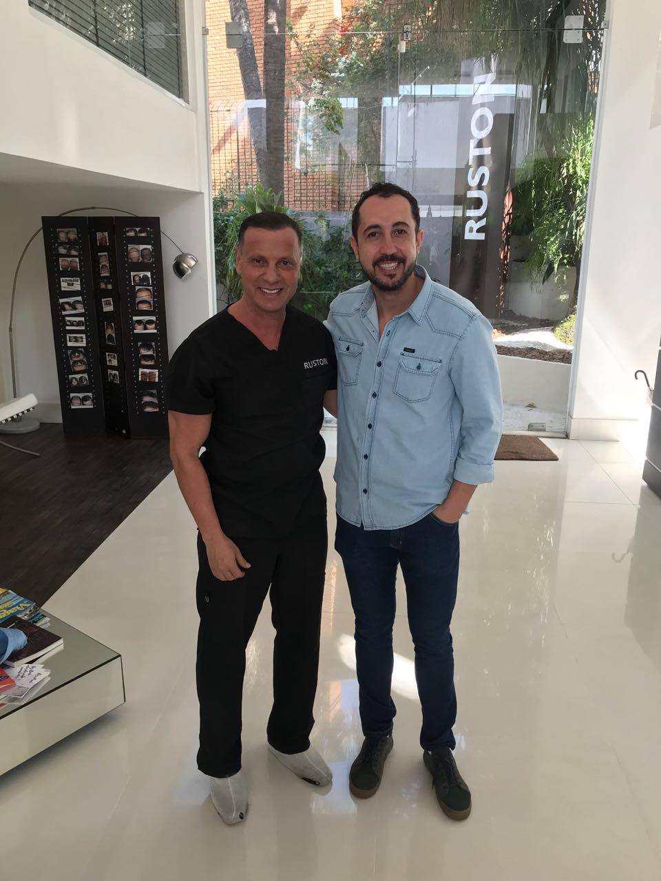 Dr.Antonio Ruston e Thiago Rocha