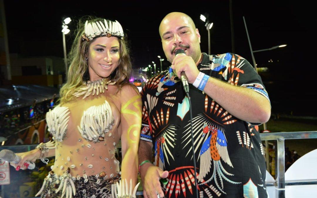 Luana Monalisa e Tiago Abravanel - Foto: Juarez Carvalho / Renato Cipriano - Divulgação