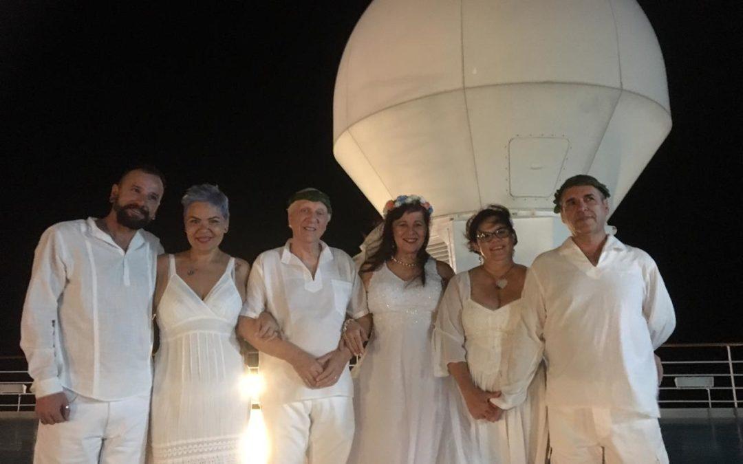 Tânia Gori Celebra Casamento Celta em Cruzeiro Encantado