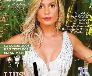 Luisa Mell vira embaixadora de empresa de cosméticos