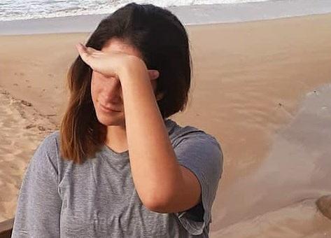 Ana Eliza Bussolo aproveita tarde no Morro das Pedras em Florianópolis