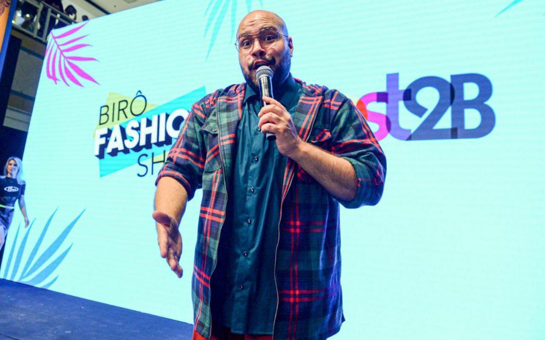 Tiago Abravanel arrasa em desfile de moda ao lado de vários famosos