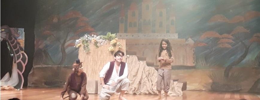 Laura Pessoa estreia no musical 'O Novo Alladin'
