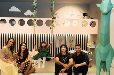 Saiba como será o quarto da Malena, filha de Jesus Luz e Carol Ramiro