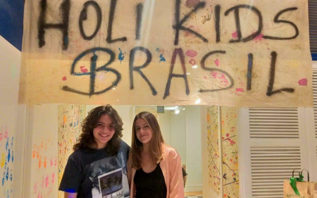 'Holi Kids' diverte a garotada no Fashion Mall