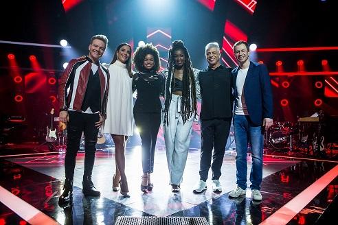 """""""The Voice Brasil"""" bate recorde de audiência"""