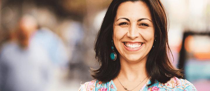 Fundadora da PeaceFlow, Diana Bonar ensina abordagem de gestão de conflitos em workshop