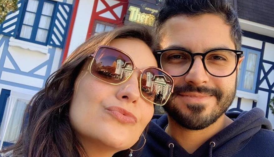 Giulliana Succine aproveita feriado para passear em Teresópolis