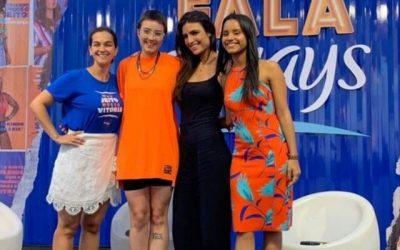 Gleici Damasceno participa de evento em Recife sobre empoderamento e sororidade feminina