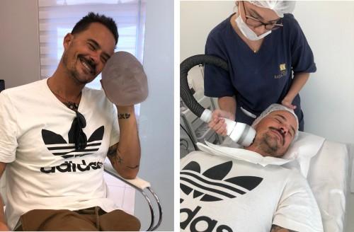 Ator Paulinho Vilhena afirma ser vaidoso e realiza tratamentos estéticos em SP