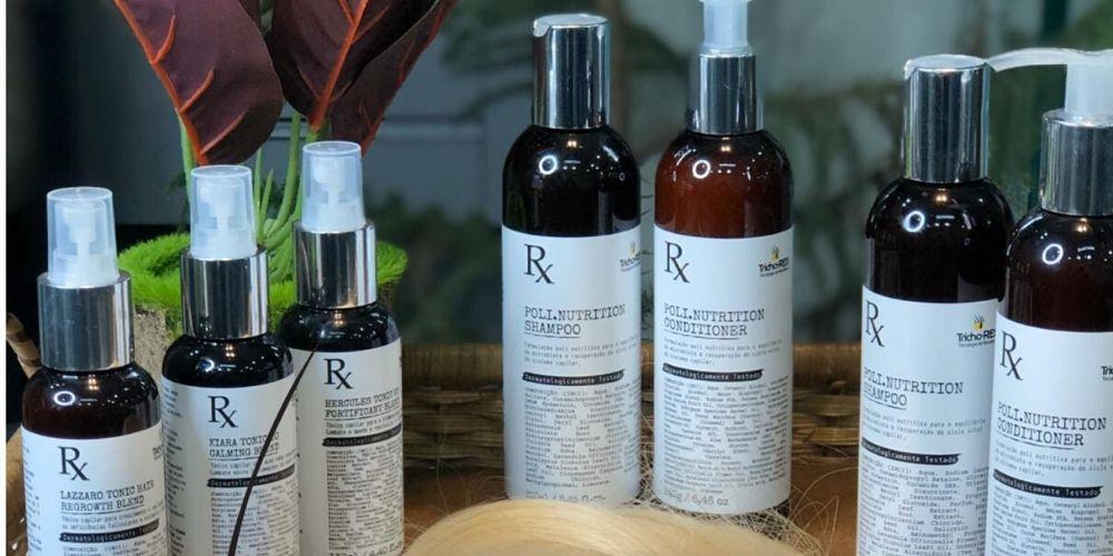 Empresa relacionada à patologias e tratamento do couro cabeludo
