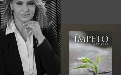 Jordana Luchetti é co-autora do livro Ímpeto ,onde conta toda  sua  trajetória de empreendedorismo