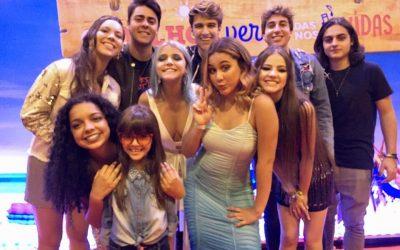 Isa Félix e Duda Goulart assistem à pré-estreia do filme 'O Melhor Verão das Nossas Vidas'
