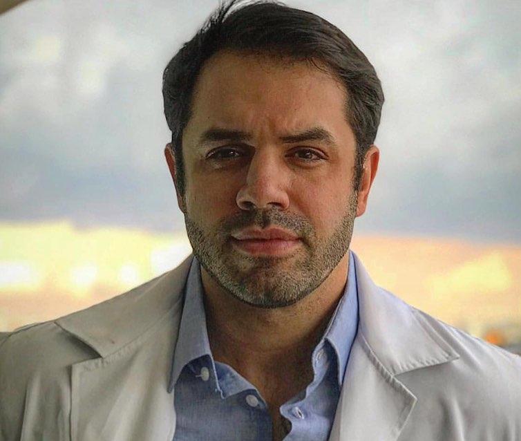 O médico Dr Derek Camargo é referência em emagrecimento pelo Hospital Israelita Albert Einstein