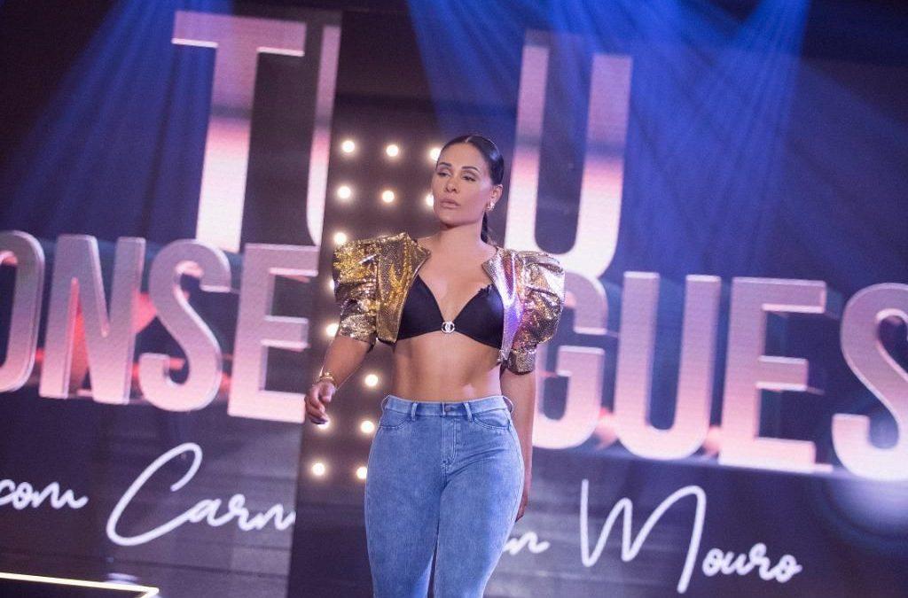 Carmen Mouro lança linha de roupas Fitwear e estreia a segunda temporada do Tu Consegues
