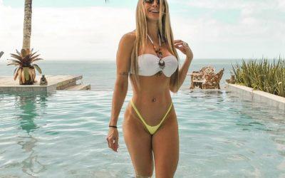 Musa fitness aos 40anos, Denise Rochase inspira em Solange Frazão e ostenta corpão