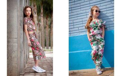 Eleitas ícones fashion mirins, as Marias apresentam tendência em sessão de fotos
