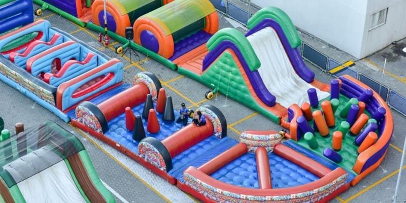 Monster Race: diversão para toda a família no Shopping Via Parque