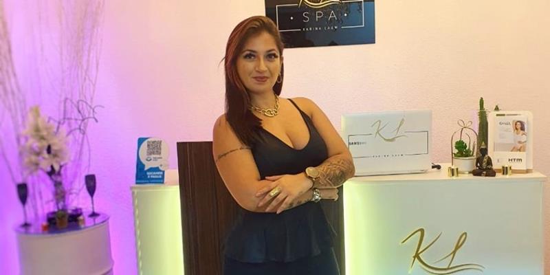 Aos 35 anos, empresária do ramo da beleza, Karina Lauw vira referência em bem estar