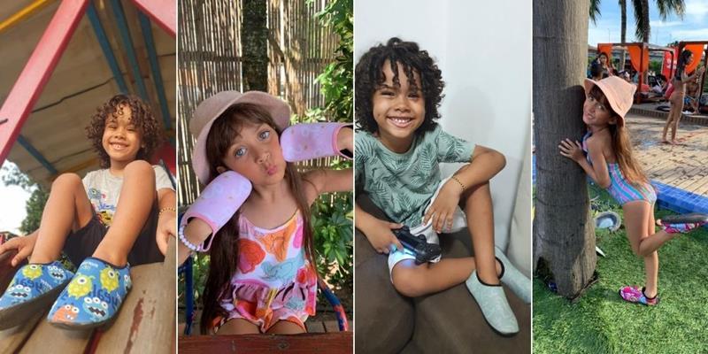 Sophia Braz e Matheus Assis apresentam coleção de sapatilhas especiais, confortáveis e estilosas da 'CrepNeo'