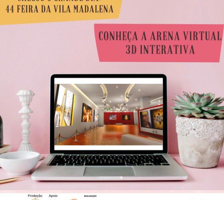 A 44  edição da  Feira  da  Vila  Madalena chega com novidades