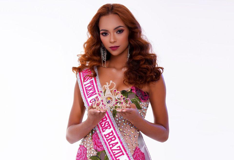 Thaynara Vargas, de Boa Vista no Roraima, foi eleita Miss Brasil Teen 2021
