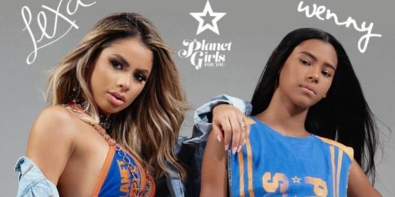 Lexa e sua irmã Wenny Isa são as estrelas na nova campanha da Planet Girls For You