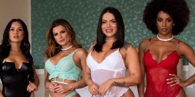 Natália Rios lança marca de lingerie, com ensaio luxuoso
