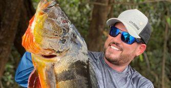 Maicon Bianchi ajuda a promover o turismo da pesca esportiva