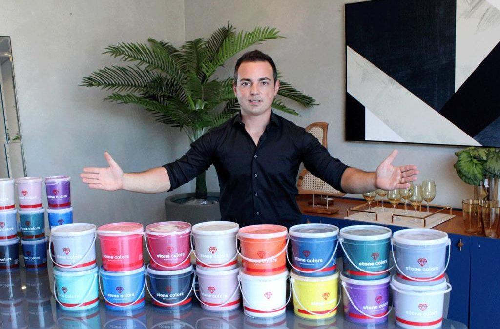 De revendedor a fabricantes de tintas: conheça a história de sucesso do influenciador Leonardo Arruda, o 'Leo Tintas'