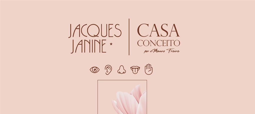 FLORES PARA VOCÊ: Jacques Janine Casa Conceito por Mauro Freire apresenta uma instalação artística para comemorar o Dia dos Namorados.