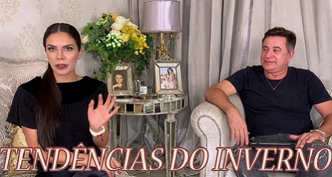 YouTube: Daniela Albuquerque e Claudio Vaz comentam as principais tendências do inverno 2021
