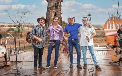 Neto & Felipe lançam música com participação especial de Guilherme & Santiago