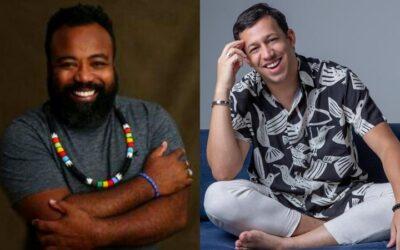 Eles são a cara do Rio! Wallace Safra e Rodrigo França se reúnem em live hoje para falar sobre carreira, arte e cultura plural