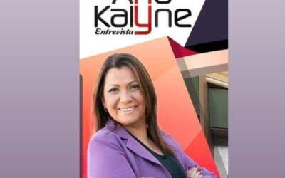 Programa 'Ana Kalyne Entrevista' volta à TV em nova temporada
