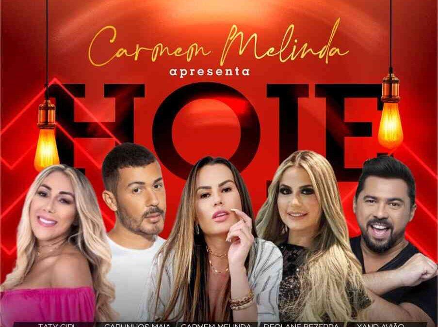 Empresária Carmem Melinda reúne celebridades em festa em Fortaleza
