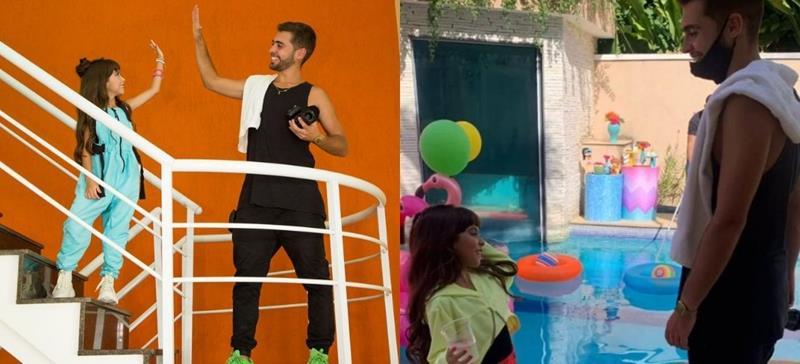 Sophia Braz comemora mais de 4k de views do seu primeiro clipe 'Baile da Sophia', dirigido por Vítor Reis